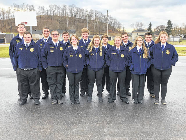 Racine Southern FFA members are pictured during FFA Week activities.