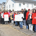 Teachers taking a stand together