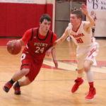 Point shoots down White Falcons, 64-46