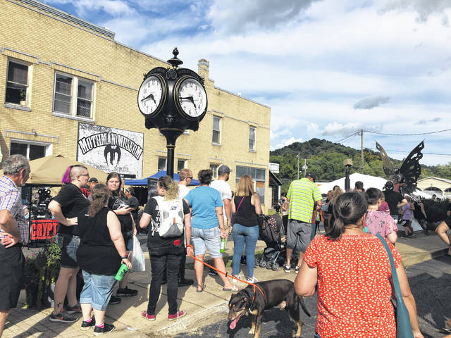 Pictured is a scene from last year's Mothman Festival. The 18th Annual Mothman Festival will take place Sept. 21 & 22, which a kick-starter event to be held the evening of Sept. 20.