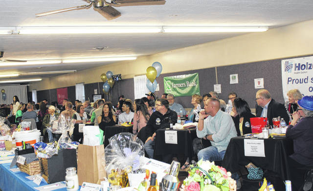 There was a sell out crowd for Friday evening's Meigs County Chamber and Tourism Spring Dinner and Auction held at Kountry Resort Campground. The event featured more than 100 items as part of silent and live auctions, dinner by the Chamber Grill Team and other contests and prizes. More on the annual Spring Dinner and Auction will appear in an upcoming edition of The Daily Sentinel and on mydailysentinel.com.