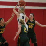 Notre Dame downs Lady Eagles, 48-38