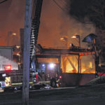 Crews on scene of large fire in Pomeroy