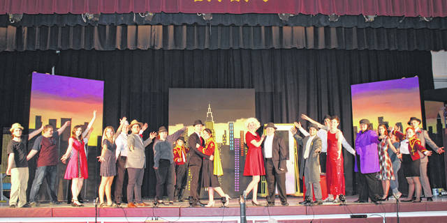 "The Meigs High School Drama Club will present ""Guys and Dolls"" during two shows this weekend."