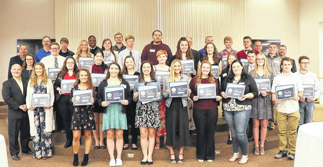 Holzer Health System recently honored outstanding local high school science graduates at its 36th annual High School Science Awards Banquet, including students from Gallia, Meigs and Mason counties. A complete list of honorees appears in the adjacent story.