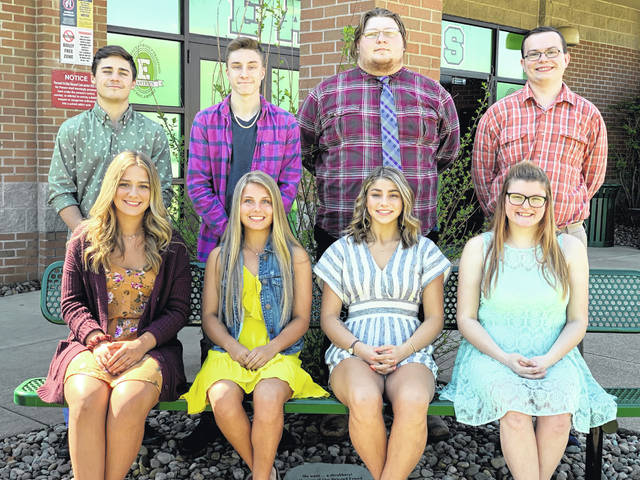 The Eastern High School prom will be held on Saturday, April 27 at Eastern High School. The prom royalty will be announced during prom on Saturday evening. Pictured are (front row, left to right) Queen Candidates Shelby Carter, Alexus Metheney, Lillian Marcinko, Natasha Graham; (back row, left to right) King Candidates Sharp Facemyer, Dylan Creath, Dustan McBenge, and Jacob Barrett.