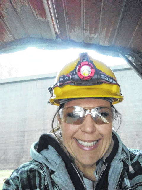 Tammy Jackson is the first woman to work on the shop floor of Huntington Steel in its 115-year history.