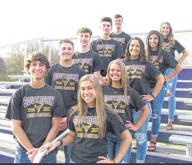 "King and Queen candidates have been announced for the 2019 Southern High School Prom, which will be held Saturday, April 13. King candidates (front to back) are Logan Drummer, Jensen Anderson, Noah Diddle, Austin Baker nd Weston Thorla. Queen candidates (front to back) are Madison Lisle, Peyton Anderson, Tori Chaney, Jacynda Glover and Marissa Brooker. Walk in is 7-8 p.m. at the high school. The theme is ""Midnight Garden""."