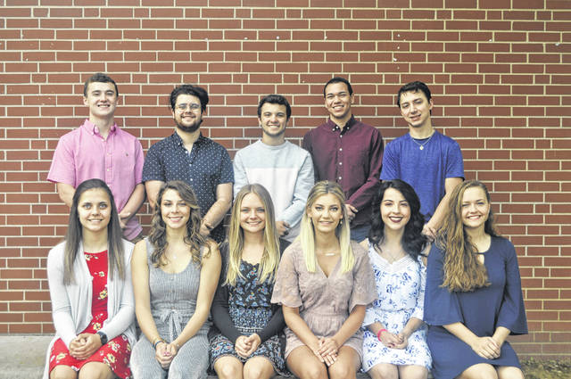 The 2019 Meigs High School Prom will be held on Saturday, May 4, with the King and Queen to be crowned that evening. Queen candidates (front, from left) are Marissa Noble, Kassidy Betzing, Shalynn Mitchell, Jenna Marshall, Hayley Lathey, Taylor Swartz. King candidates (back, from left) are Zachary Bartrum, Ezra Briles, Brody Reynolds, Cole Durst, and Evan Hennington.