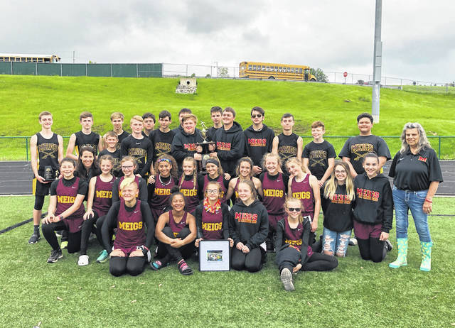 The Meigs Middle School Boys and Girls Track teams won the TVC Ohio league meet. Team members and coaches are pictured following the meet.