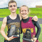 Meigs Middle School track teams win league titles