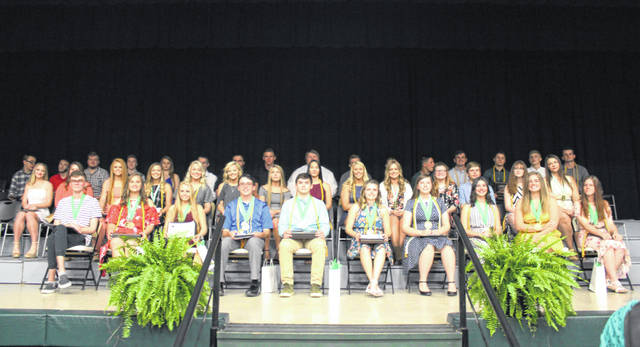 Award and scholarship recipients for the Eastern High School Class of 2019.
