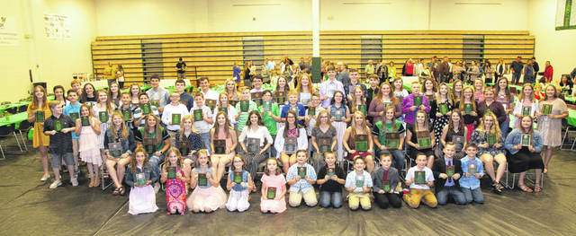 Eastern Local School District Academic Banquet Honorees are pictured in a group photo.