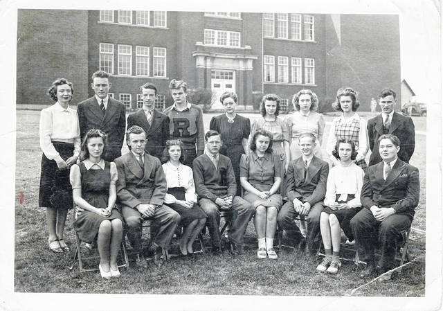 As the end of the 2018-19 school year is quickly approaching, we are going to take a look back to some of the past students in Meigs County with class pictures from the collection of Bob Graham. This undated photo shows students from Rutland High School pictured in front of the school building.