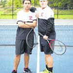 Point duo finishes tennis season at state