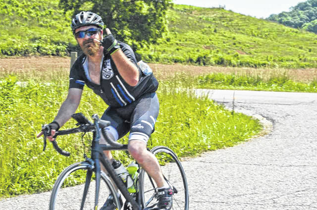 There were a total of 77 cyclists who participated in the bike rides at last year's festival.
