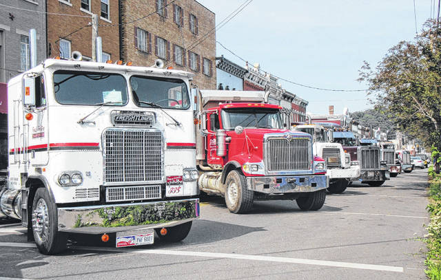 The annual Tribute to the Truckers will take place on Saturday evening.