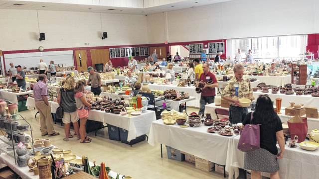 The 26th annual Hull Pottery Association National Show and Sale will be held July 12-13 in Crooksville.