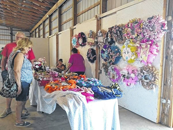 Numerous vendors will be set up at the Meigs County Fairgrounds this weekend as part of Meigs County Trade Days.