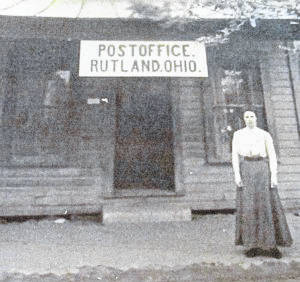 The Rutland Post Office around 1900