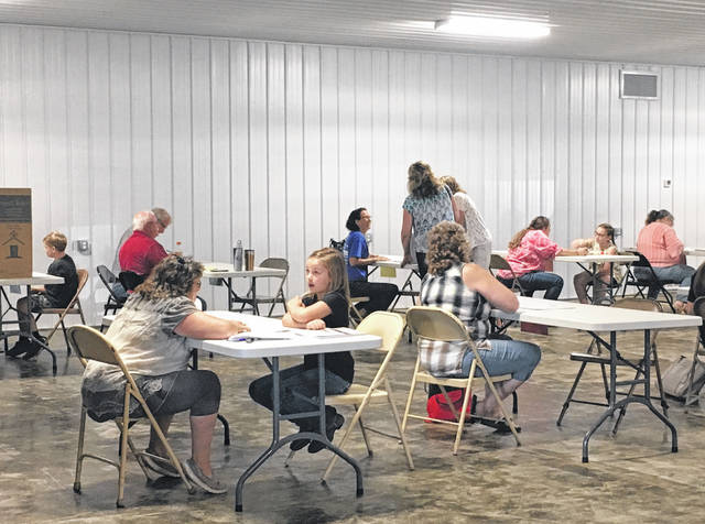 The first 4-H project judging for 2019 took place on Wednesday morning in the new Rutland Bottle Gas Building at the Meigs County Fairgrounds.