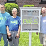 PALS, Saint Peter's Blessing Box erected