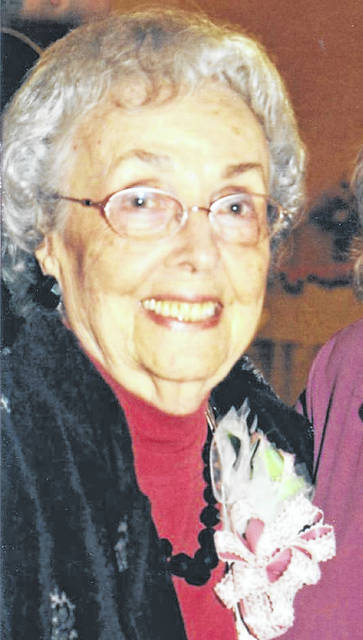 Jewell Evans at a 90th birthday celebration.