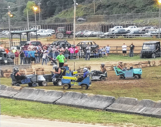 The Meigs County Fair Demolition Derby continues to be a fan favorite, drawing a large crowd on Monday evening to watch Power Wheels, lawn mowers and vehicles of all types crash and bash.