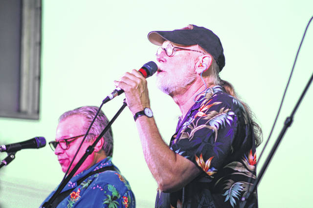 "Steve ""Dr Honk"" Cabot and Tony Alfano of Phil Dirt and the Dozers took the people down memory lane Wednesday night at the Meigs County Fair. The Columbus based band is regarded as one of the countries best oldies bands."