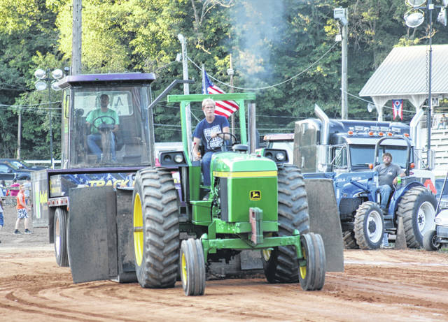 Thursday night brought out a crowd at the pull track and the Grandstand at the 2019 Meigs County Fair. Always a crowd favorite the Tractor Pulls brought in a huge crowd along the pull track. Tractors from all over the Midwest pulled Thursday night. In front of the Grandstand, ATV and Motocross racing was held. Racers from young children to adults raced for the top prize.