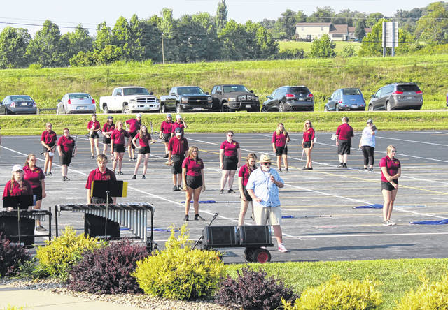 "The Meigs Marching Band recently hosted a preview of their 2019 fall show at the conclusion of their week of band camp. The band, under the director of Toney Dingess, will be performing ""Where the Sidewalk Ends"" as their show for this year."