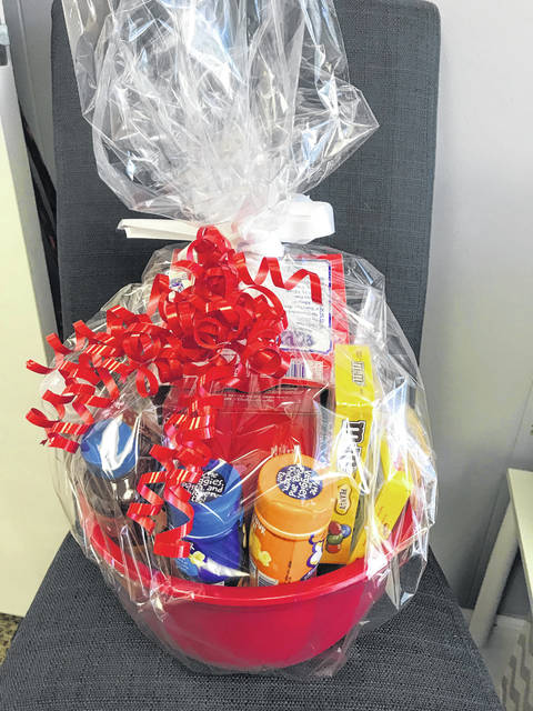 Themed baskets will be part of the silent auction taking place at the fair next week.
