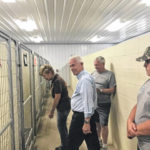 Johnson volunteers at Meigs Canine Center