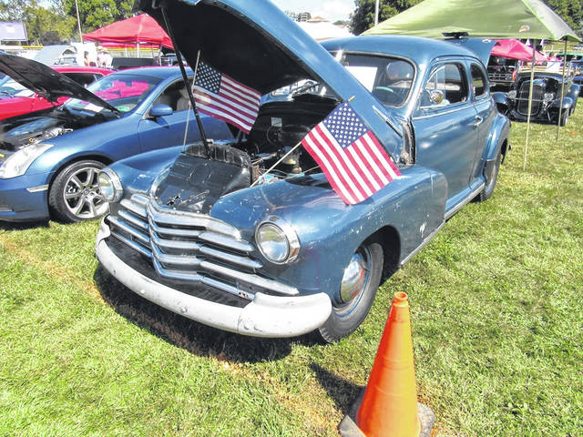 More than 80 vehicle were part of the annual Cruisin' Saturday Night Car Show held on Saturday during Racine's Party in the Park.