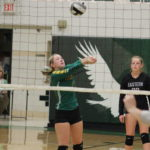 Lady Eagles edged by Trimble