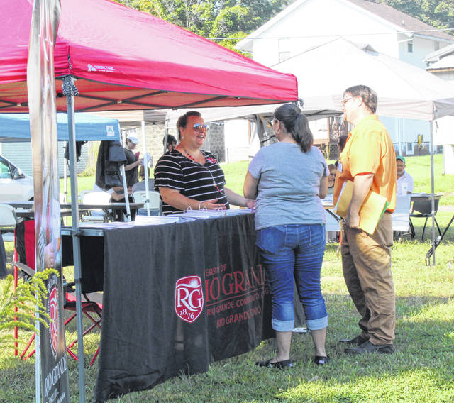 Employers and job seekers were on hand for the recent Meigs County Job Fair held in Middleport.