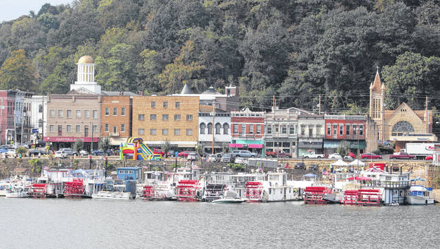 Sternwheelers and smaller boats lined the river front area in downtown Pomeroy for much of the past week as many arrived from near and far for the annual Pomeroy Sternwheel Regatta.