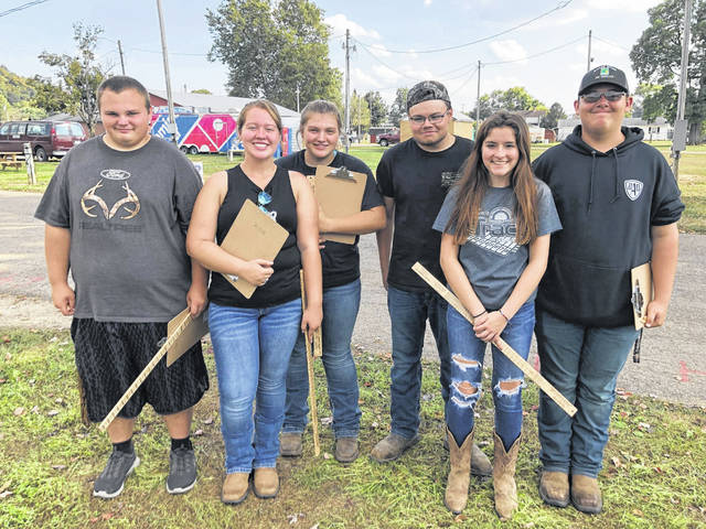 Racine Southern FFA Forestry Team includes (from left) Austin Rice, Raeven Reedy, Caelin Seth, Dylan Lyons, Rachel Jackson and Austin Rose.