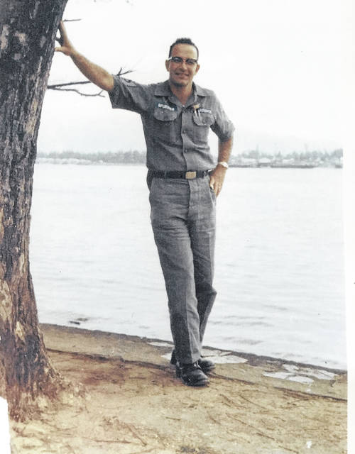 Senior Master SGT. Clarence (Bud) Spurrier is pictured in Vietnam.