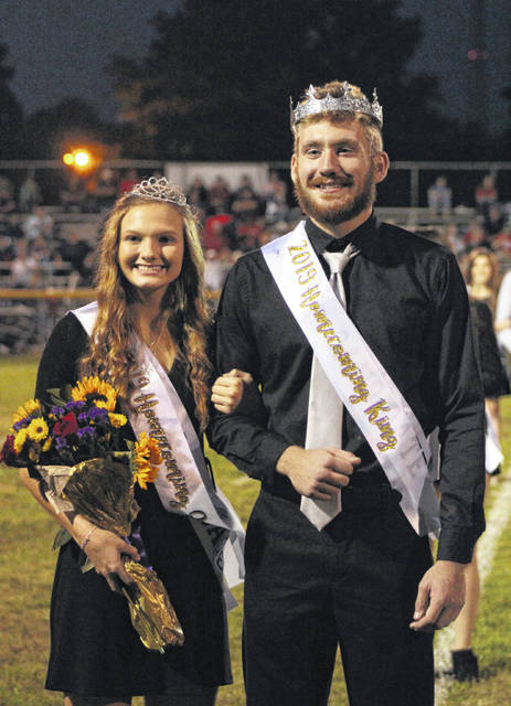 Phoenix Cleland and Mark Eblin were crowned the 2019 Southern High School Homecoming Queen and King, respectively, during a ceremony on Friday evening before the Southern Homecoming football game against Ravenswood. Additional photos from Friday's Homecoming events appear inside today's edition and online at mydailysentinel.com.
