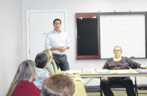 Secretary of State visits Meigs Board of Elections