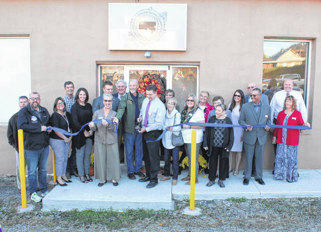 The official ribbon cutting for the new Meigs County Historical Society Museum was held on Tuesday evening as part of a Chamber Business After Hours event.