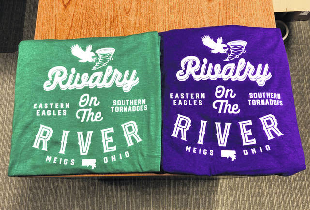Shirts in school colors have been made for each of the football teams, cheerleaders and band members.