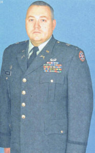 Dailey honored for military service