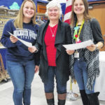 Girls State participants meet with Legion Ladies Auxiliary