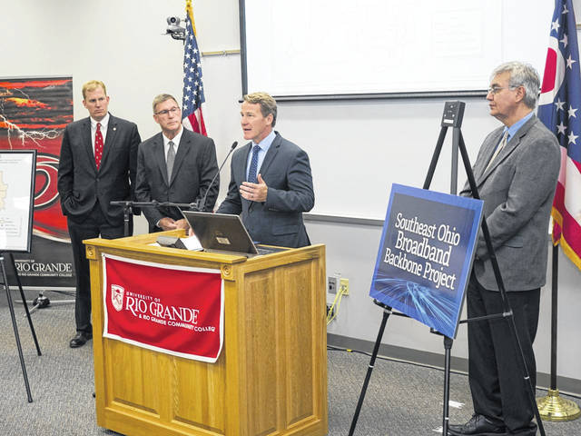 """Buckeye Rural Electric Cooperative's (BREC) $2.5 million grant from the Appalachian Regional Commission (ARC) Partnerships for Opportunity and Workforce and Economic Revitalization (POWER) Initiative was hailed by Lt. Governor Jon Husted as """"critically important for the future of the region."""""""