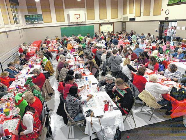The annual Ugly Sweater Games hosted by Loyalty is Forever were recently held at the Syracuse Community Center. The event, which includes an ugly sweater contest, raises funds for special programs at the Meigs County Sheriff's Office, including the upcoming Shop with a Cop event which is planned for Monday. Ugly sweater winners at the event included Jennifer Hoback of Racine,Linda Parsons of Racine and Julie Petrasko of Cumberland. The Ugly Sweater Games take place in early December each year. For more on the event and other fundraisers by the group,including the Firehouse 12 campaign, visit Loyalty is Forever on Facebook.