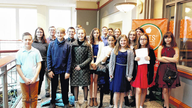 The Eastern Middle School Model United Nations team