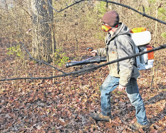 "A backpack fogger is a terrific ""force multiplier"" in the battle against invasive plants."