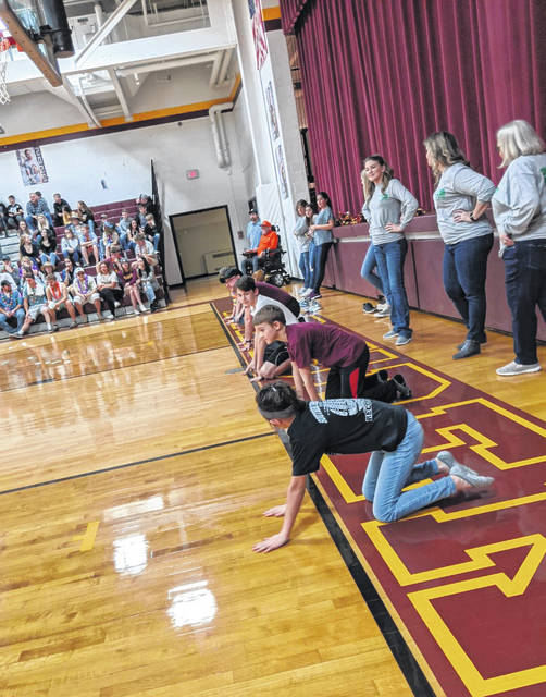 "Home National Bank hosted Family Night on Saturday evening at Meigs High School, with several people taking part in the famous ""Dash for Cash""."